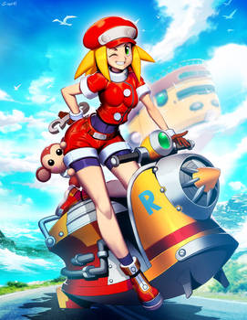 Mega Man Legends - Roll Caskett