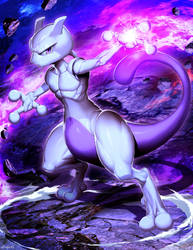 Mewtwo - Pokemon by GENZOMAN