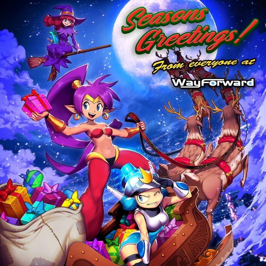 Wayforward Season Greetings 2018 by GENZOMAN