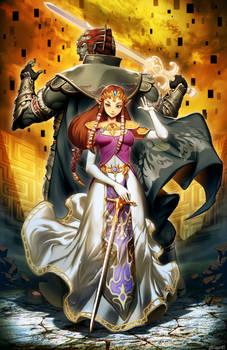Twilight Princess - Ganondorf and Zelda
