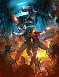 Resident evil 2 by GENZOMAN
