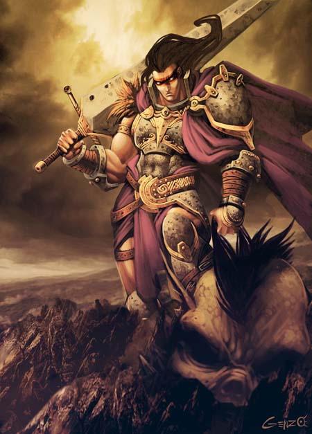 beowulf by genzoman
