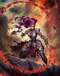 Darksiders III - Fury by GENZOMAN