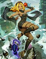 Gravity Rush - Kat by GENZOMAN