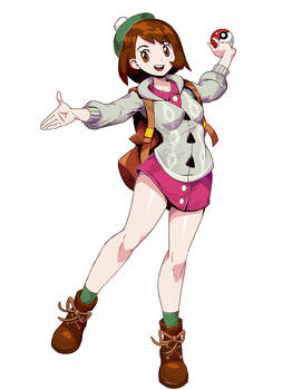 Pokemon Sword and Shield - Female Trainer