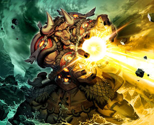 Hearthstone - Solar Wrath by GENZOMAN