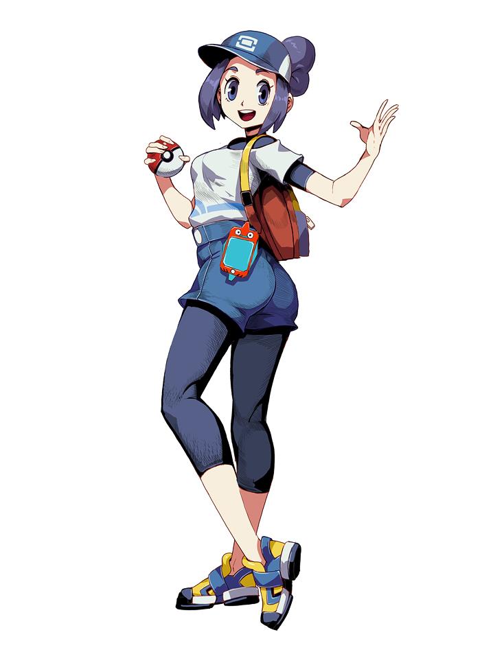 Pokemon Masters Female Trainer By Genzoman On Deviantart