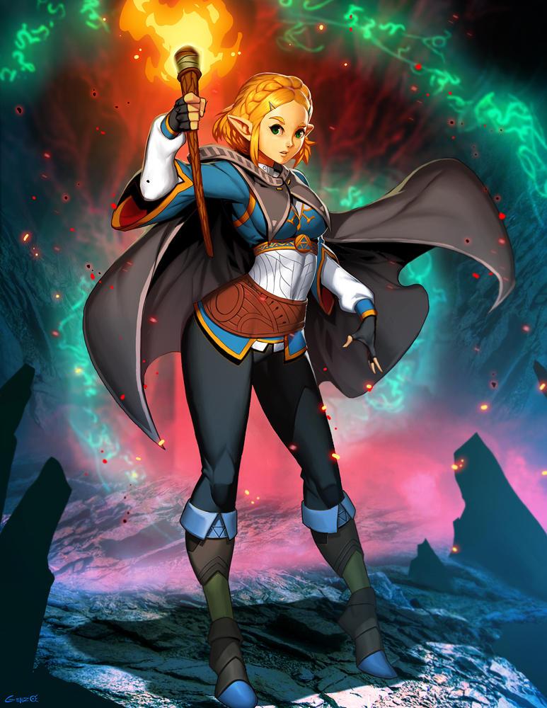 Princess Zelda Breath Of The Wild 2 By Genzoman On Deviantart