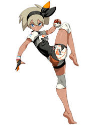 Bea - Pokemon Sword and Shield by GENZOMAN
