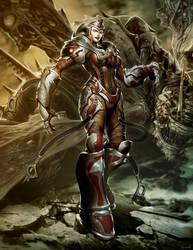 Queen Myrrah - Gears of War by GENZOMAN