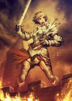 Joan D'Arc by GENZOMAN