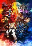 Street fighter VS Mortal Kombat