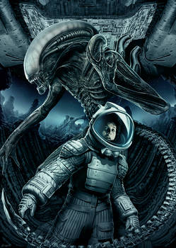 Alien - Xenomorph and Ripley