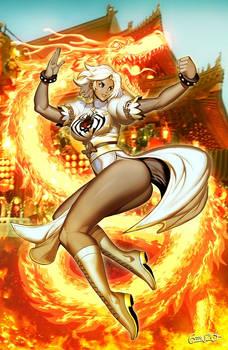 Dragon White Widow
