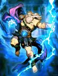 Zeus - king of Mount Olympus