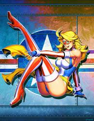 Kamen America - Variant cover Vol3 by GENZOMAN