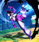Juri - Focus Attack by GENZOMAN