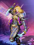 Hearthstone - Steeldancer by GENZOMAN