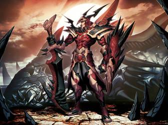 Dragon Knight by GENZOMAN