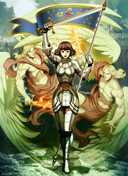 Joan of Arc - War Angels by GENZOMAN