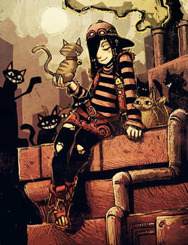 Humankind - Anita and cats