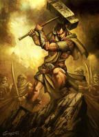 Carlos Martel by GENZOMAN