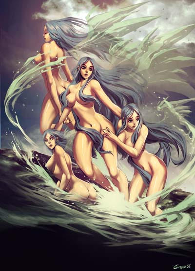 spirits of the sea by GENZOMAN