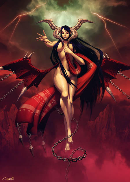 Lilith - Bestiary by GENZOMAN