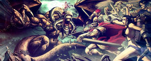 Beast VS Heroes ARMAGEDON