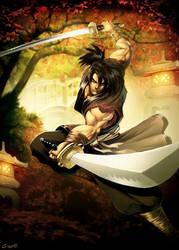 Haohmaru Musashi by GENZOMAN