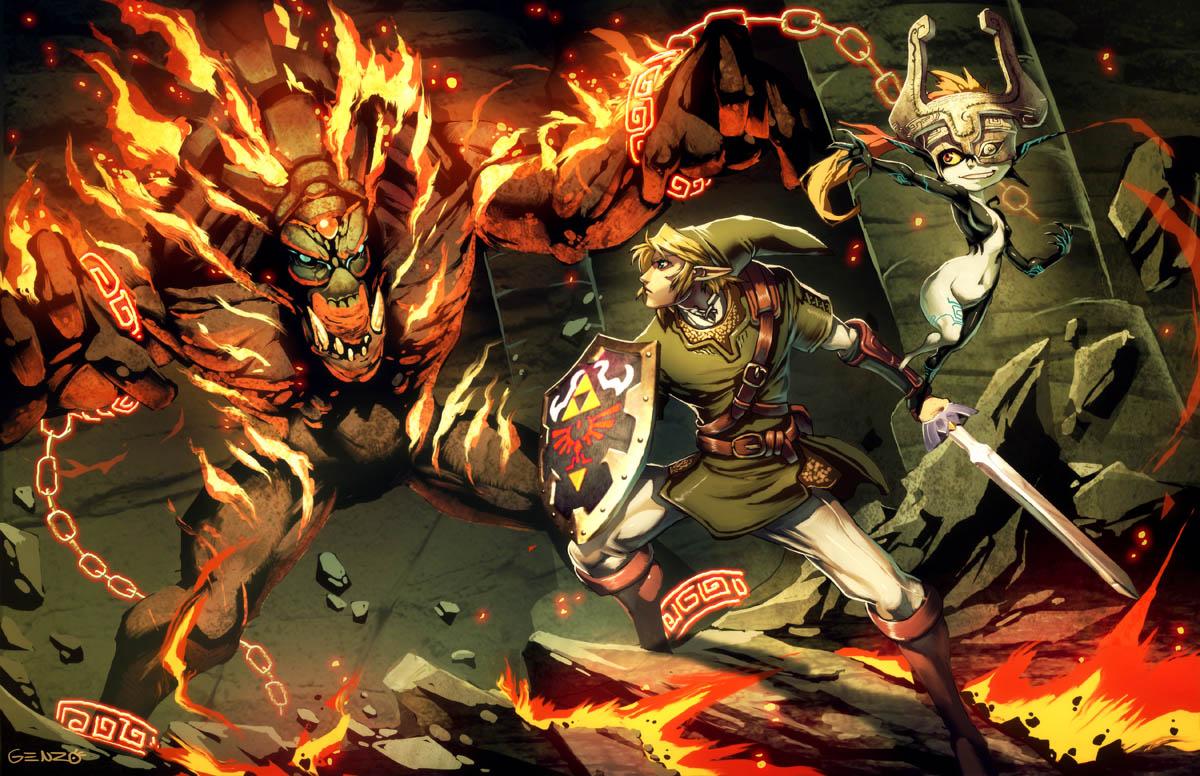 Zelda - Twilight Princess by GENZOMAN
