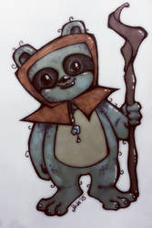 Sketch Dailies :: Ewok by JinxedJinx