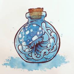 ManaMoonJelly :: Blob in a jar