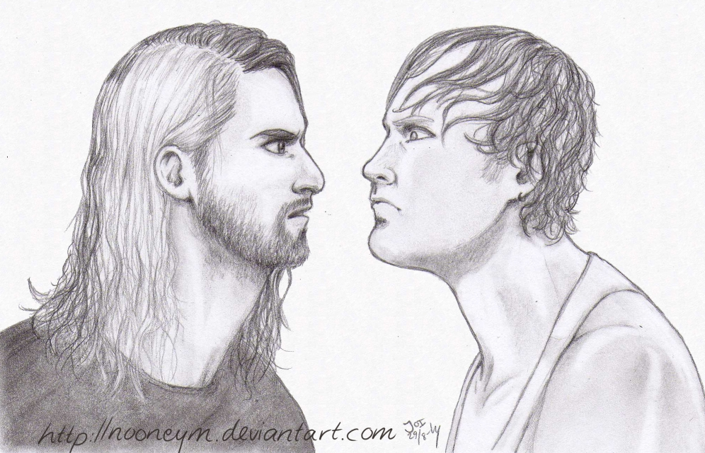 Seth rollins coloring pages hairstylegalleries com