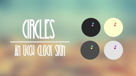 Circles - UCCW Clock Skin