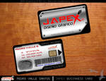 JAPEX Business Cards