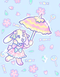 sakura macaron