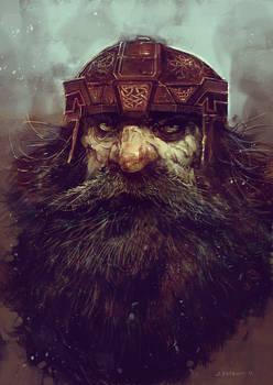 Member of the mountain clans -Disciples II fan art