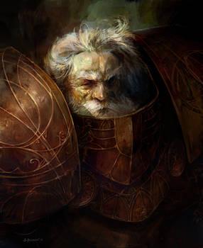 Defender of the faith - Disciples II fan art