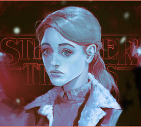Nancy/ Stranger Things