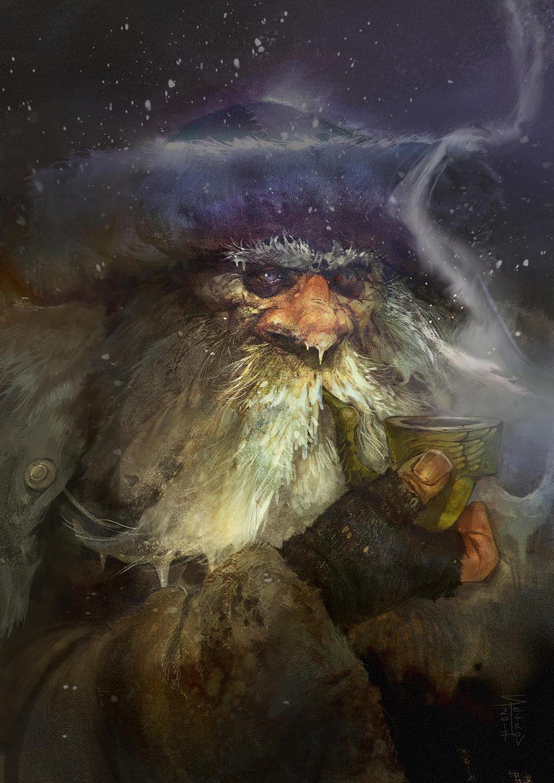 Hermit by SvetoslavPetrov