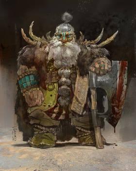 Venerable Warrior full scale