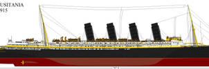 RMS Lusitania 1915