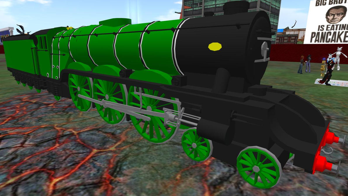 SL Flying Scotsman Finished by Crystal-Eclair