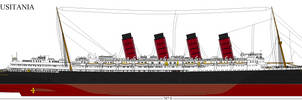RMS Lusitania by Lex-the-Pikachu