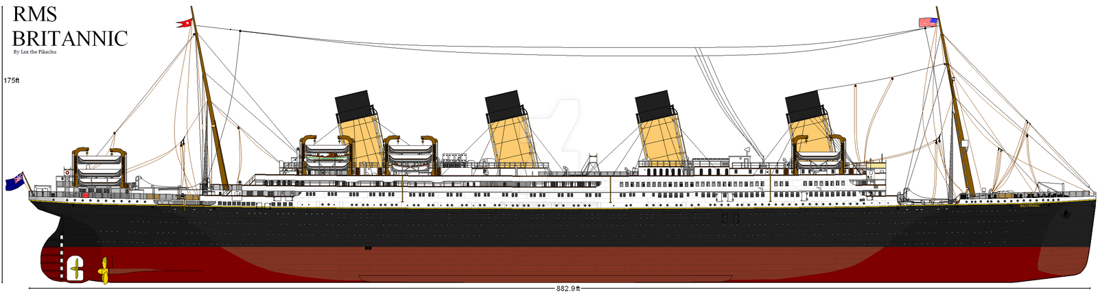 RMS Britannic by Crystal-Eclair on DeviantArt