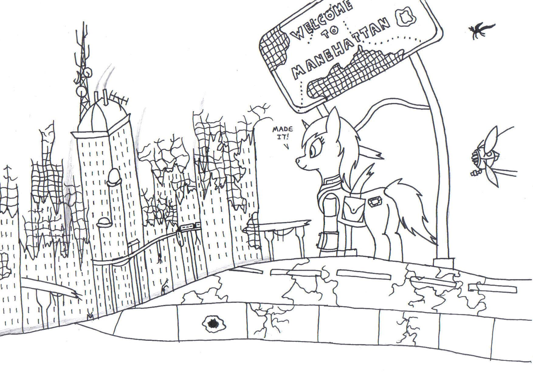 Welcome to Manehatten