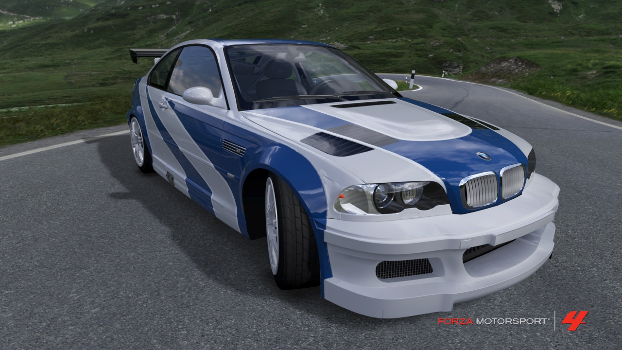 nfs most wanted bmw m3 in fm4 by fallout brony on deviantart