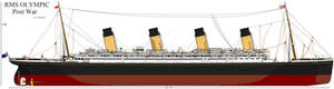 RMS Olympic :Post War: