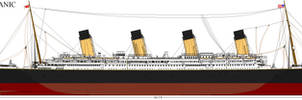 RMS Titanic 2012 :Updated: by Lex-the-Pikachu